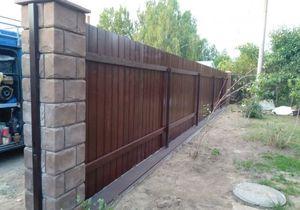 Купить деревянный забор c установкой | цены под ключ в Москве